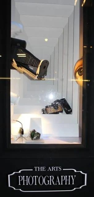 vitrina de moda