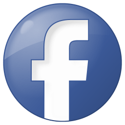 Image result for facebook logo button