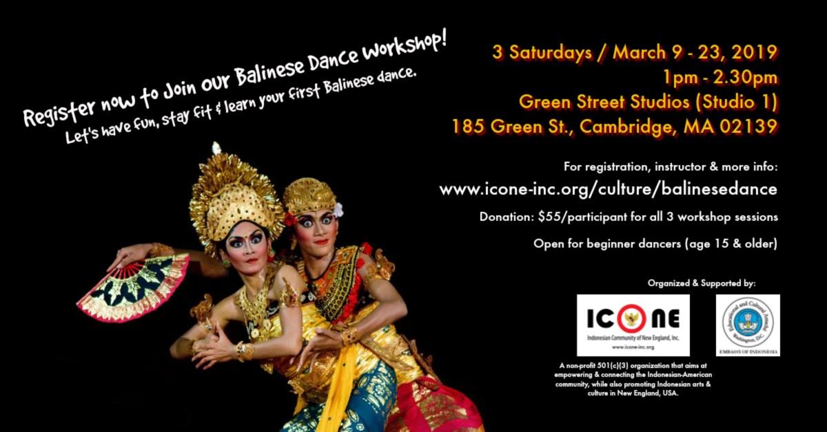 Balinese Dance Workshop
