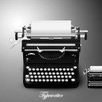 icône machine à écrire