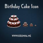 icones gâteau d'anniversaire