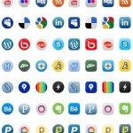 2011 social media icones pack
