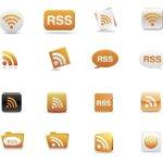 RSS icones gratuites
