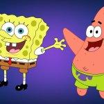 bob l'éponge et Patrick icone gratuite
