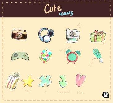 Cute icones