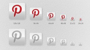 Icônes Pinterest