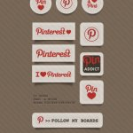 free pinterest icons