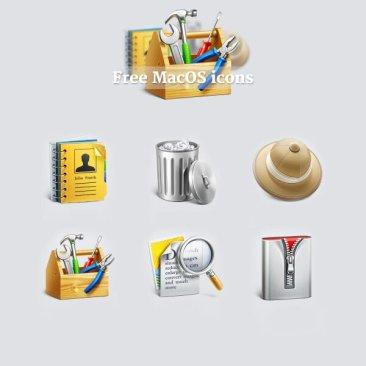 Custom MacOS icones