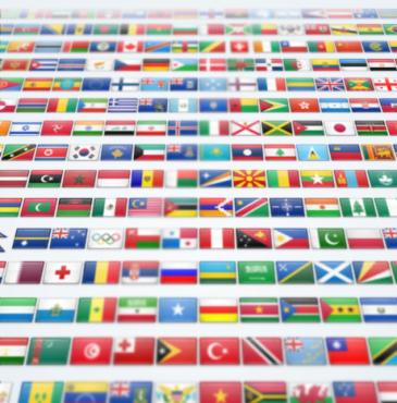 2400 icônes drapeaux