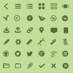 Icon Font MFG
