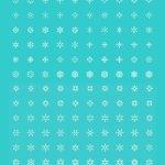 200 snowflakes icons