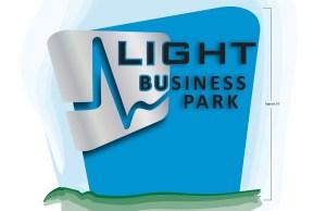 Sign design for Light Business Park.