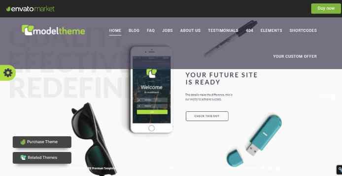 ModelTheme – Web Agency and Freelancing Theme