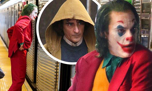 First Photos of Joaquin Phoenix as JOKER! image