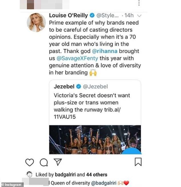 Rihanna SLAMS Victoria's Secret For Not Hiring Curvy or Trans Women! image