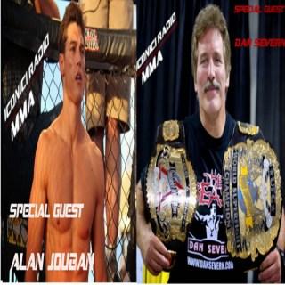 MMA Radio: UFC Alan Jouban, MMA Legend Dan Severn, UFN 45 Results, MMA News