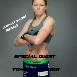 "MMA Radio: Special Guest Invicta FC 8 Tonya ""Triple Threat"" Evinger"