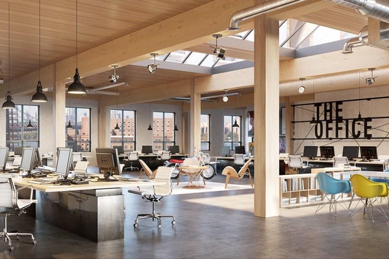 Wythe building Brooklyn New York - the office
