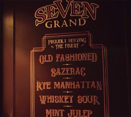 Seven Grand Whisky Bar