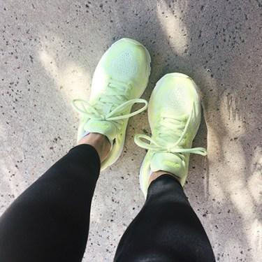 Letitia Frye - running shoes