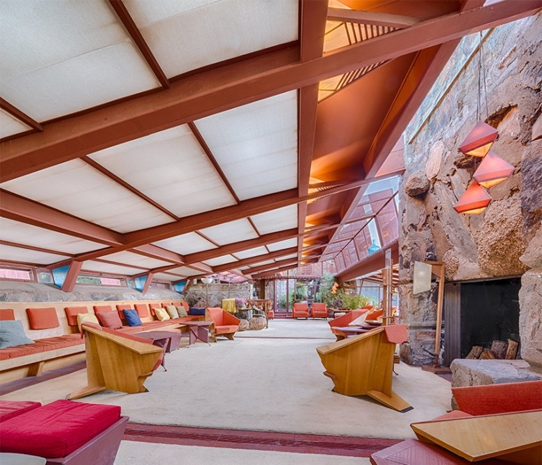 Frank LLoyd Wright's Taliesan West Scottsdale