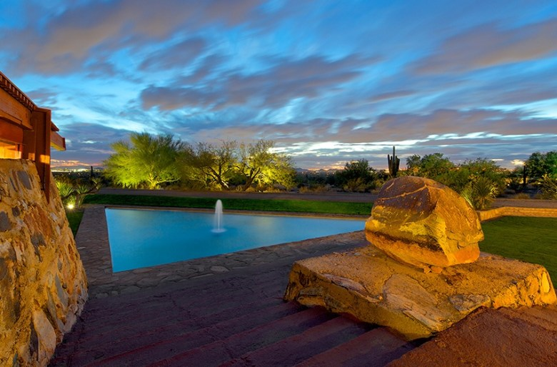 Taliesin West Arizona by Frank Lloyd Wright