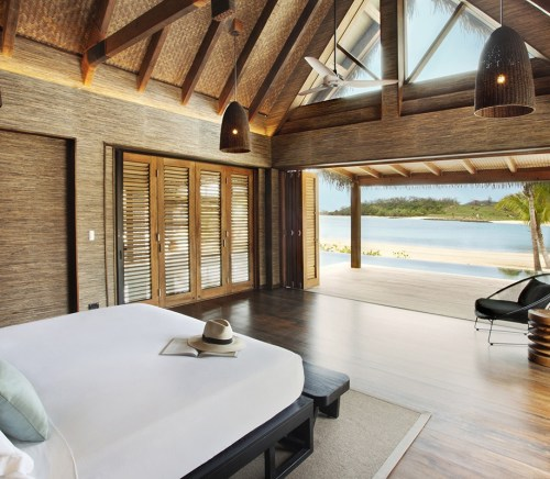 Six Senses spa resort in Fiji