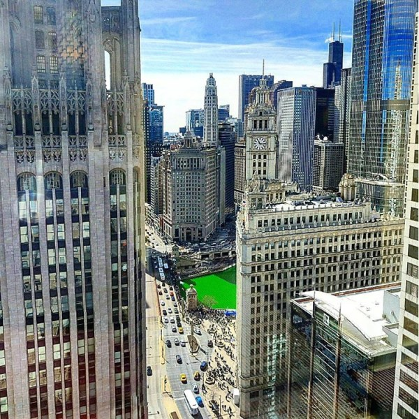 32nd floor view - courtesy of Inside Chicago Walking Tours