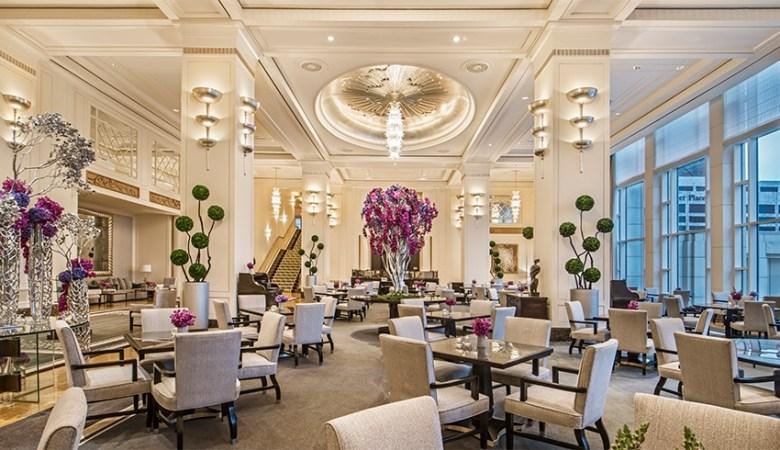 The Lobby Restaurant Peninsula Hotel Chicago IL
