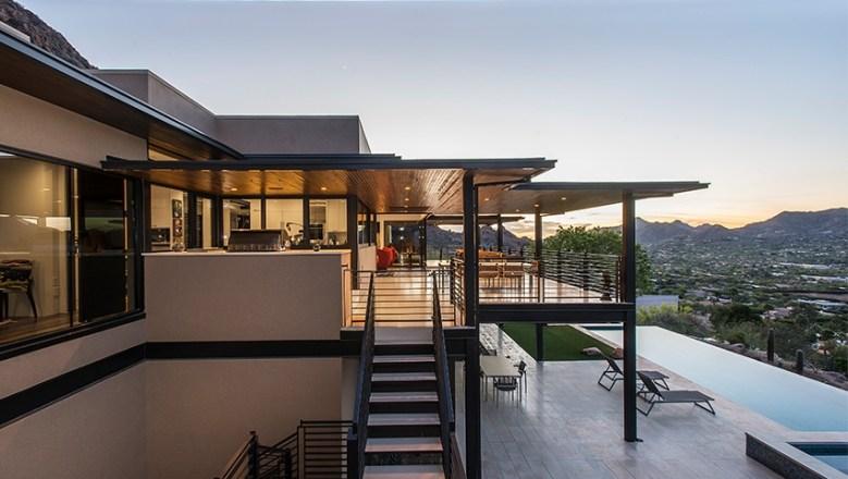 Tsontakis Architecture modern home design