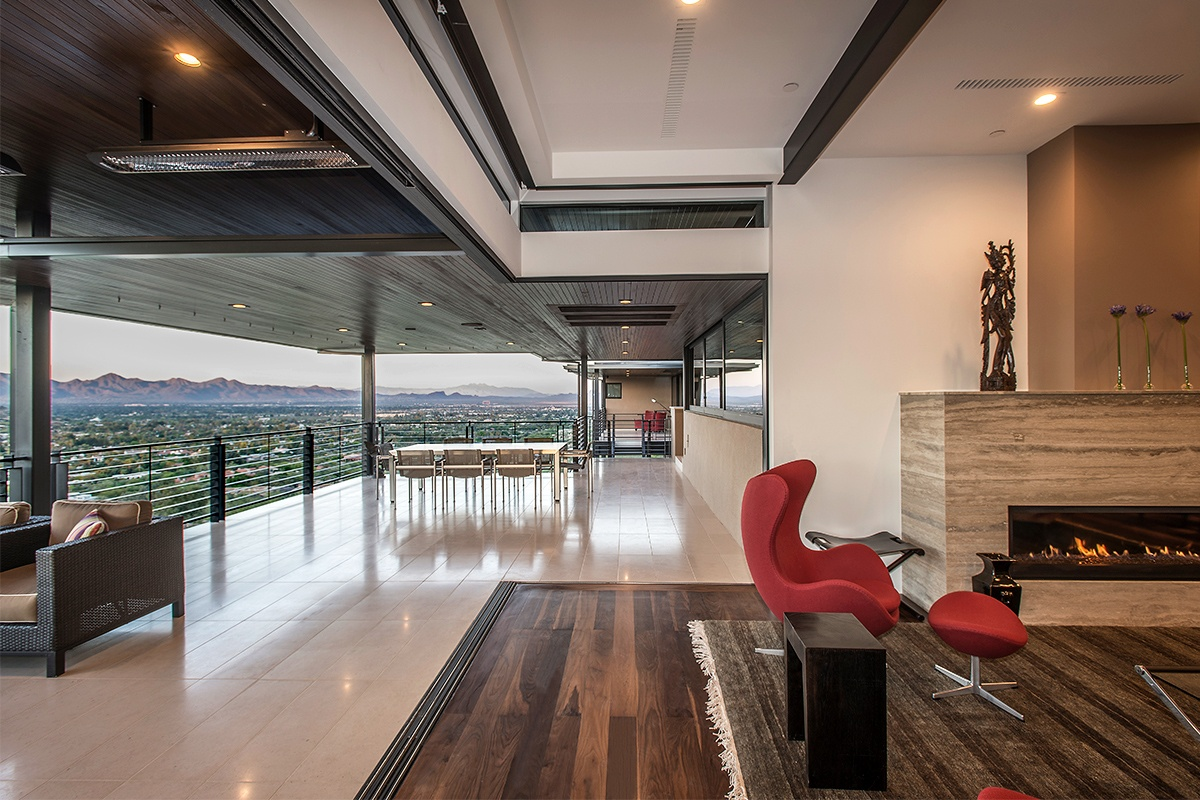 Tsontakis Architecture modern Scottsdale home design