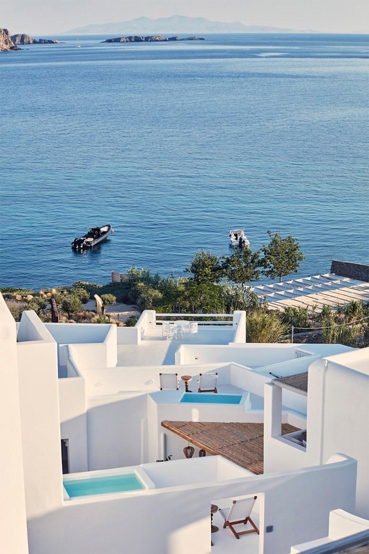 Katikies Mykonos - house and ocean view