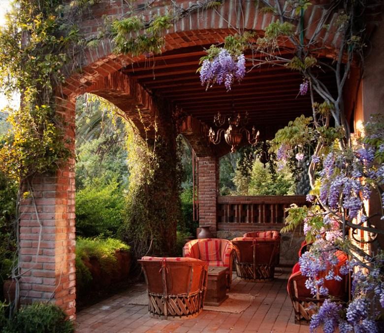 Rancho La Puerta Spa - Tecate Mexico - Patio