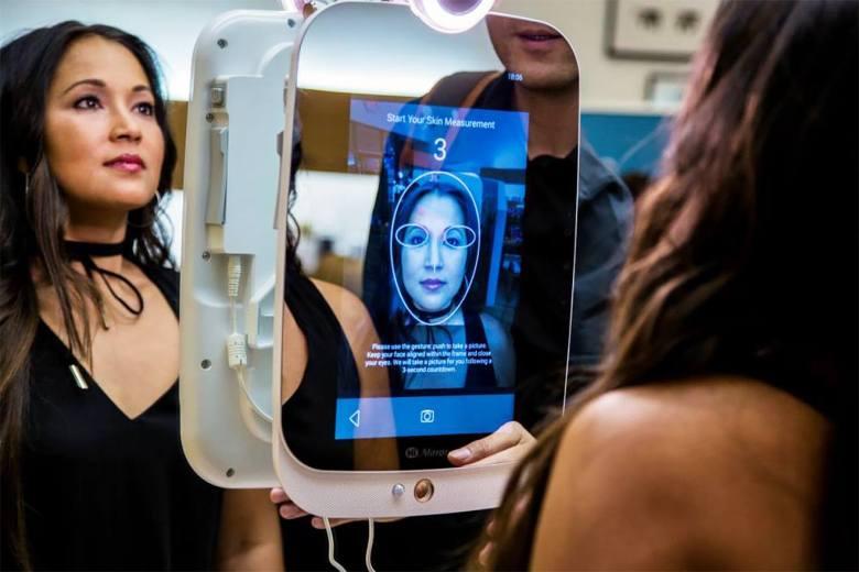 Hi Mirror skin measurement