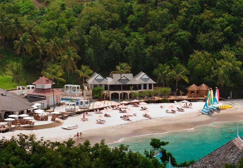 Body Holiday Spa Saint Lucia - Beach View