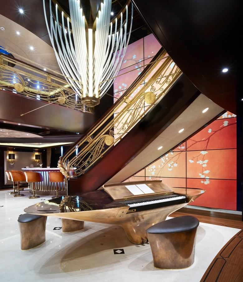 Kismet yacht interior design