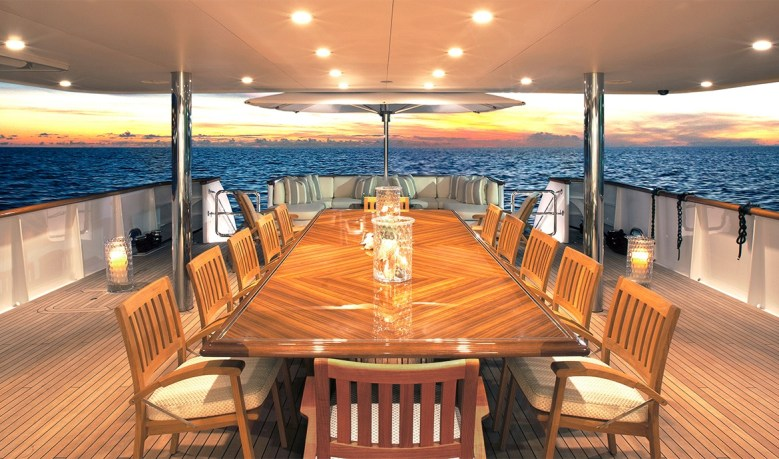 Merritt Mysorah yacht deck