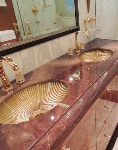 Stone Panel USA Luxury Yacht