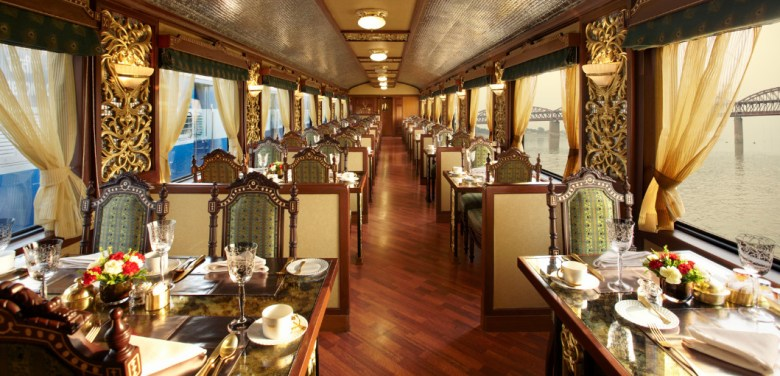 Maharajah Express Luxury train travel