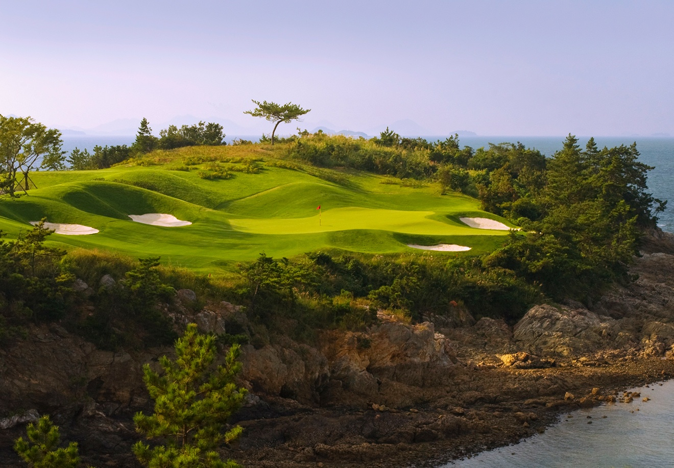 Pine Beach South Korea