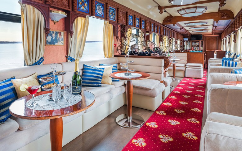 Trans Siberia luxury train travel