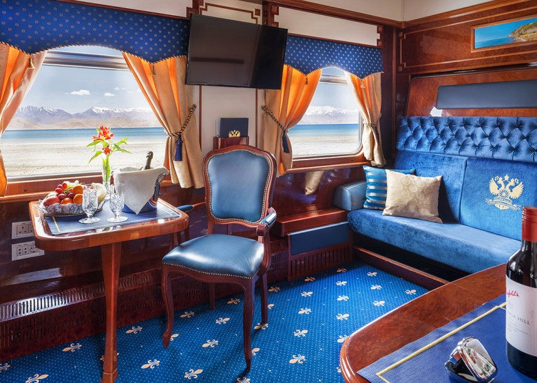 luxury Trans Siberia train travel