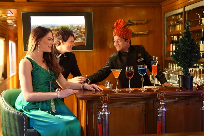 luxury train travel on the Maharajah_Express