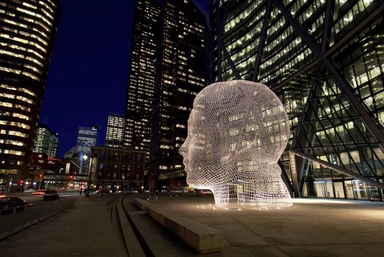 Wonderland public art Calgary Canada