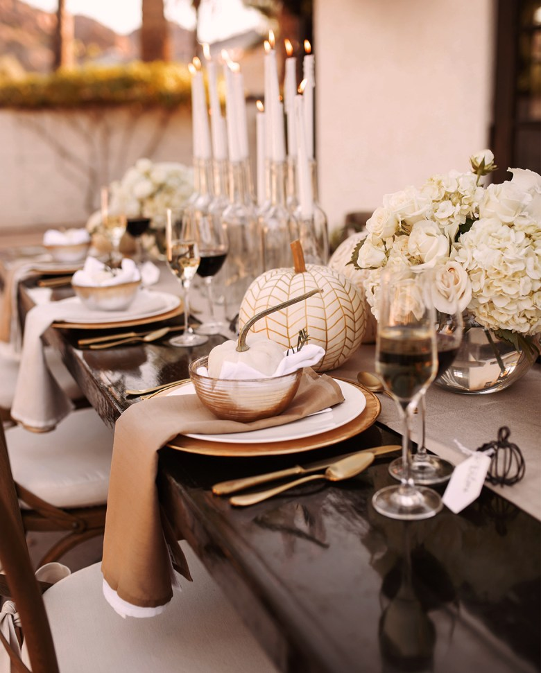Fall Dinner Party Tablescapes