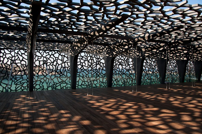 Public Art at MUCEM ROOF GARDEN, MARSEILLE, FRANCE