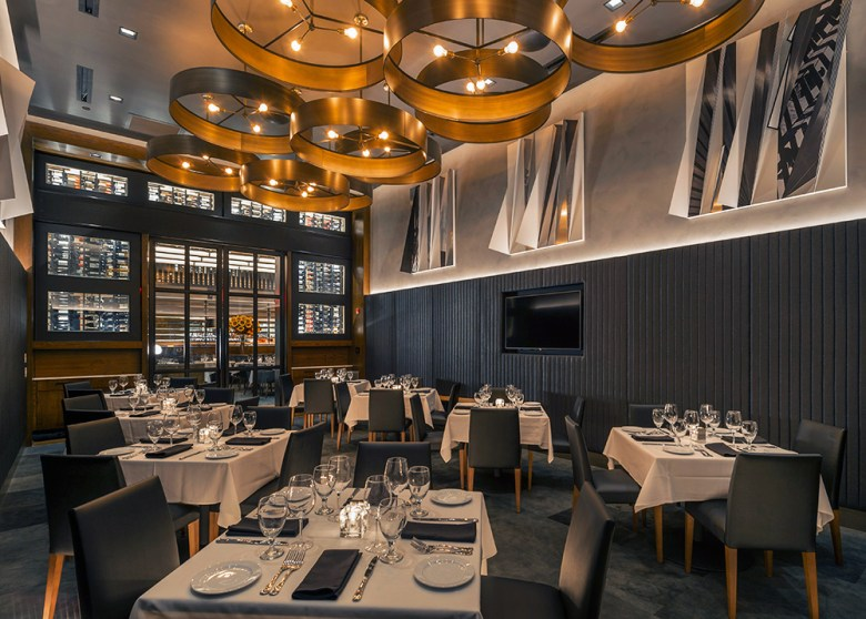 Ocean Prime NYC private dining room