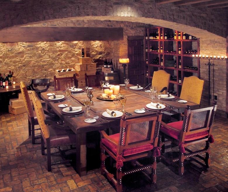 Hermosa Inn Wine Cellar