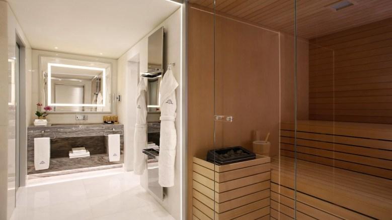 KATARA SUITE – Excelsior Hotel Gallia, Milan - Sauna