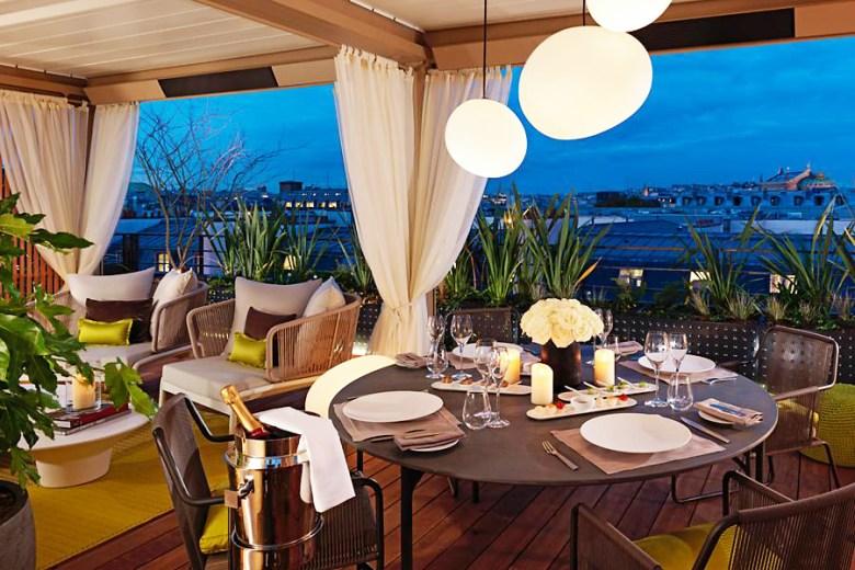 ROYALE ORIENTALE SUITE – Mandarin Oriental, Paris - Terrace